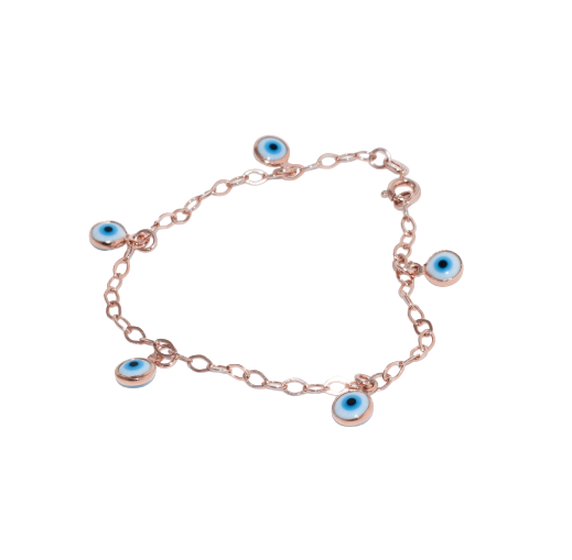 pulseira-olho-grego-rose-plume-acessórios