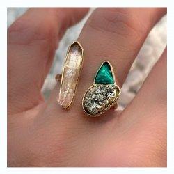 anel-ametista-pirita-malaquita-plume-acessorios
