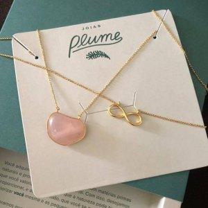 escapulário-quartzo-rosa-infinito-plume-acessórios