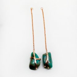 pingente-de-brinco-amazonita-plume-acessórios